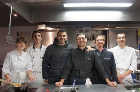 Retrouvailles avec Hervé Busset et son équipe